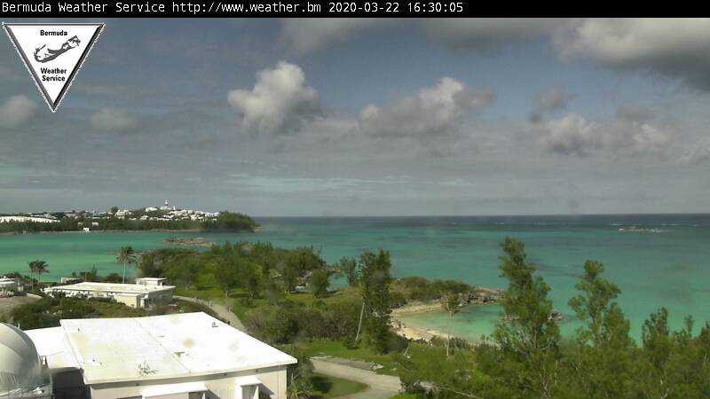 Webcam For The Port Of St George's (Bermuda)