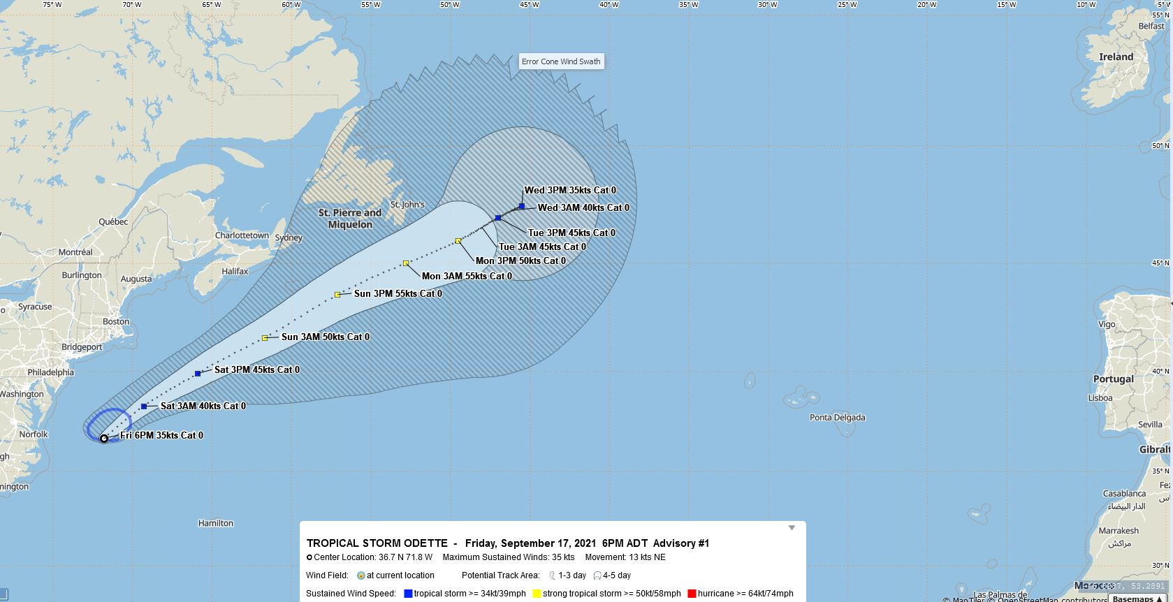 Impact on Bermuda